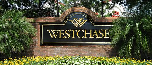 Westchase Monument Sign